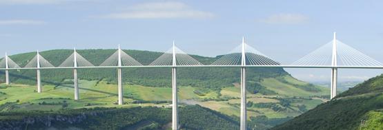 Viaduc de Millau plan moyen