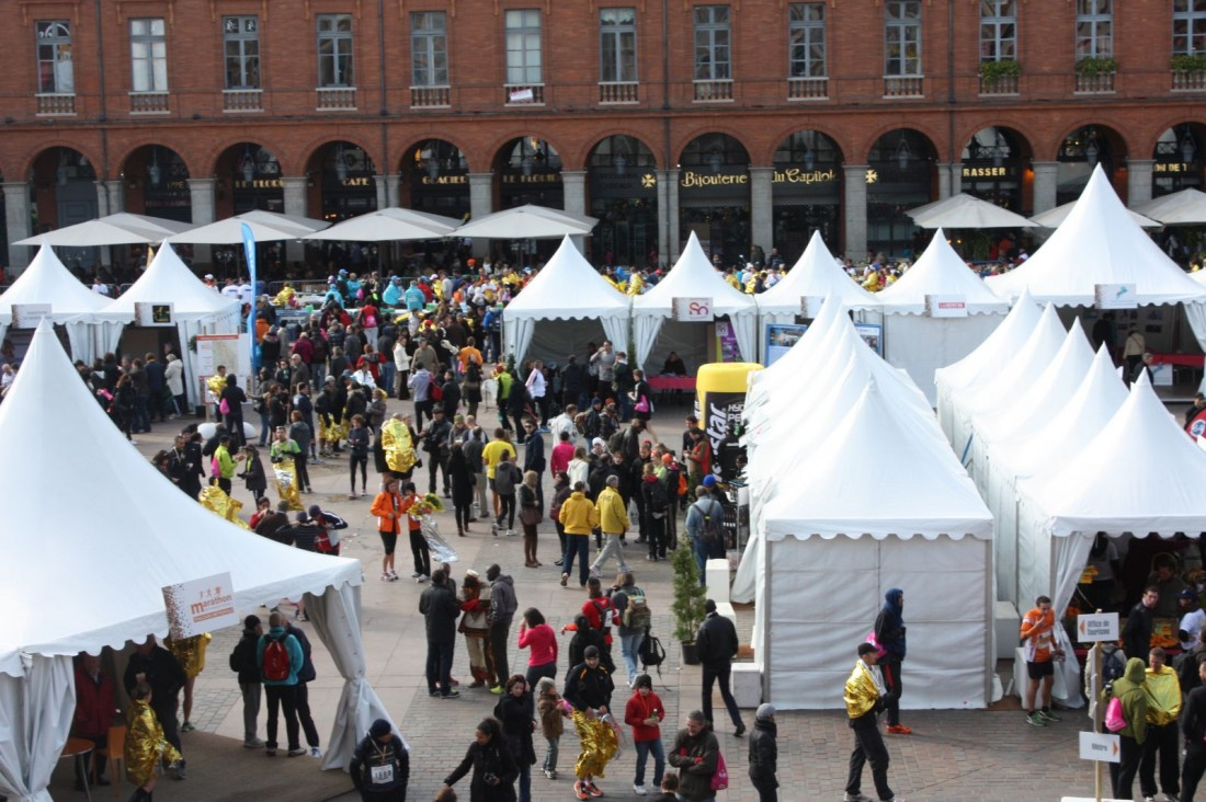 The Marathon Village in Toulouse