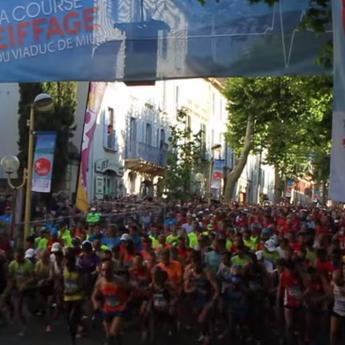 La Course Eiffage du Viaduc de Millau 2014 - VAGUE 1