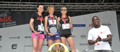 Beautiful podiums