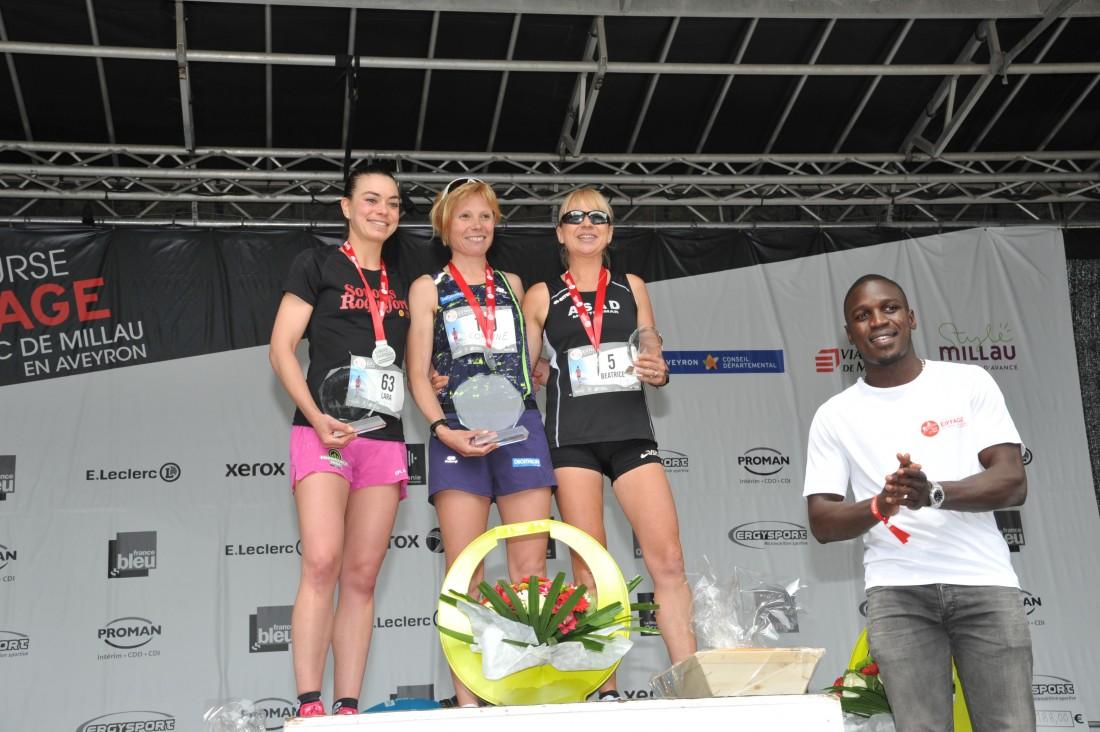 Beautiful podiums