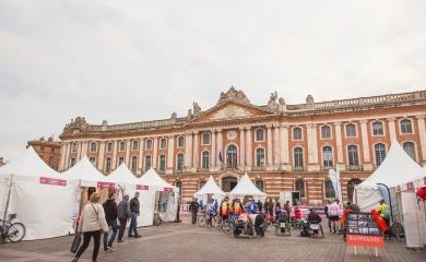 Come and meet us on the Toulouse Métropole Marathon village !