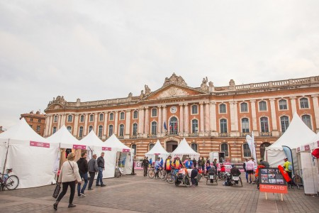 Come and meet us on the Toulouse Métropole Marathon village !