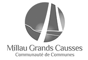 logo millau grands causses communaute de communes